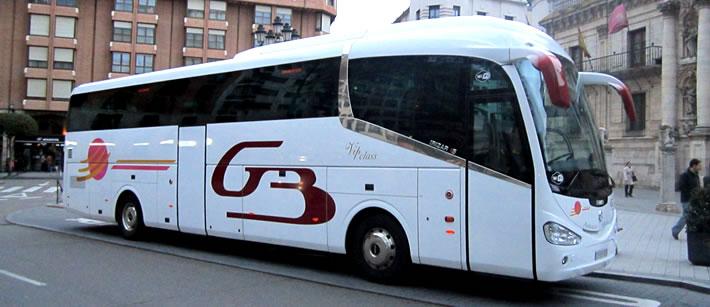 Alquiler de autobuses y autocares en Gernika